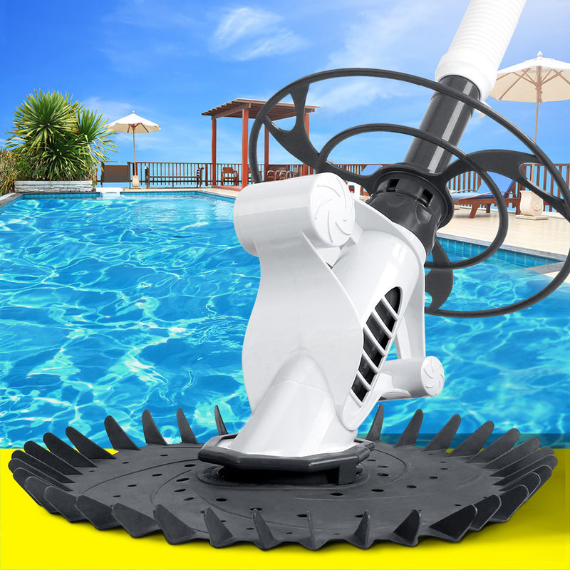 Aquabuddy Pool Cleaner Swimming Cleaning Automatic Floor Climb Wall Grey And White