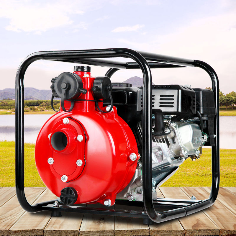 Giantz High Pressure Water Transfer Pump - Red - Sale Now