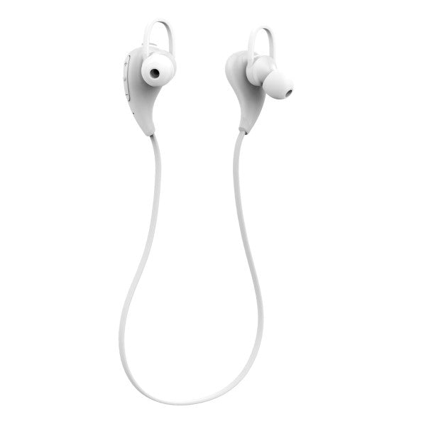 Simplecom BH330 Sports In-Ear Bluetooth Stereo Headphones White - Sale Now