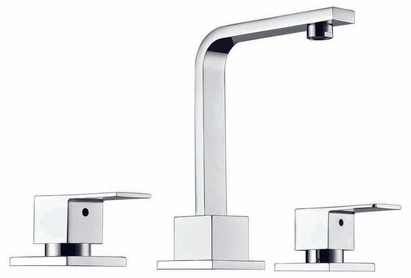 3pc Basin Tap Faucet Set - Bathroom Laundry Sink - Sale Now