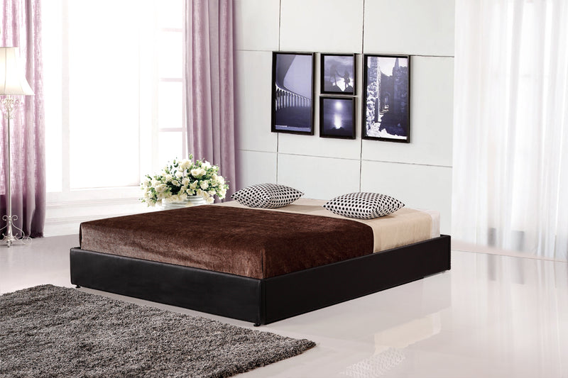 PU Leather Double Bed Ensemble Frame - Sale Now