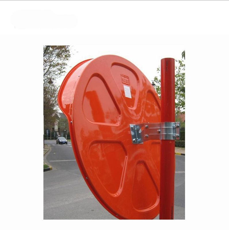 60cm Round Convex Mirror Blind Spot Safety Traffic Driveway Shop Wide Angle - Sale Now