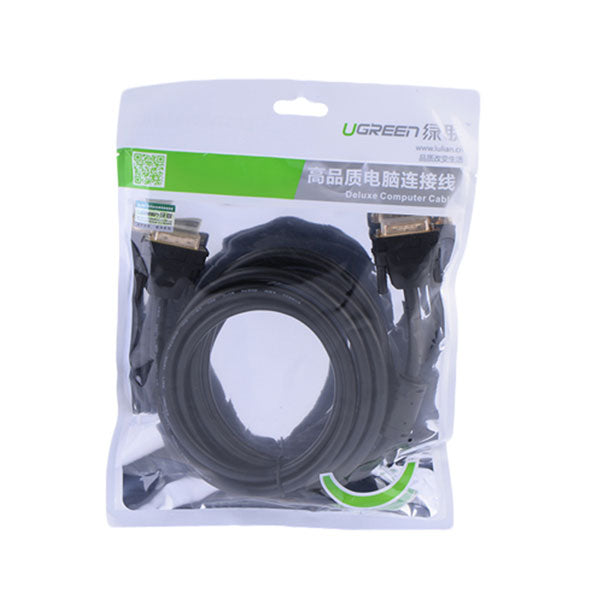 UGREEN DVI Male to Male Cable 5M (11608) - Sale Now
