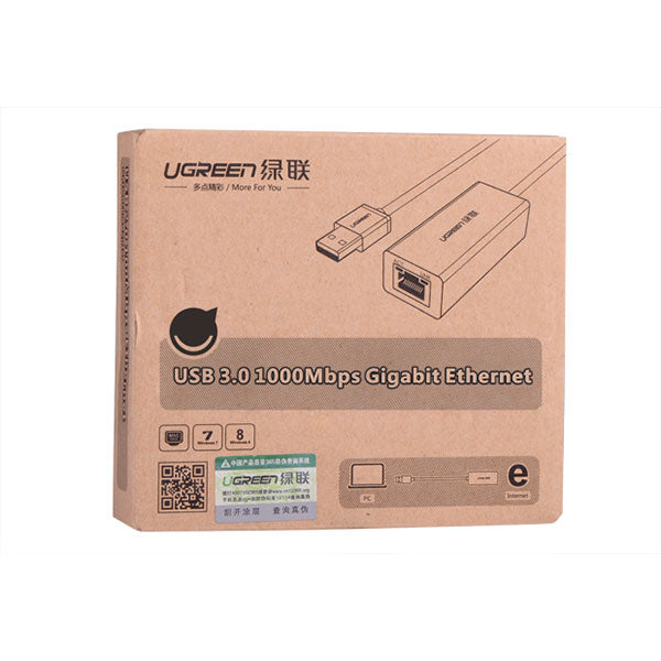 UGREEN USB3.0 Gigabit 10/100/1000 Mbps Network Adapter (20256) - Sale Now