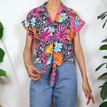 Load image into Gallery viewer, Tropical Floral Print Shirt