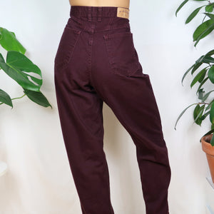 Plum Denim Mom Jeans 33W