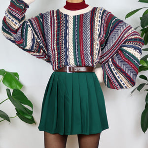 Wild Berry Coogi Style Jumper