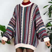 Load image into Gallery viewer, Wild Berry Coogi Style Jumper