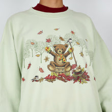 Load image into Gallery viewer, Autumn Teddy Bear Sweatshirt