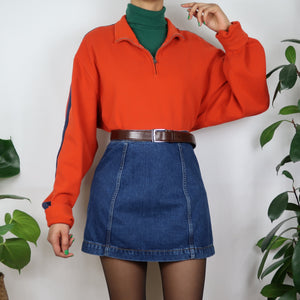 Clementine Striped Arm Sweater
