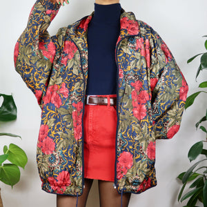 Forest Floral Shell Jacket