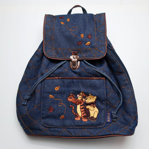 Pooh & Tigger Denim Backpack