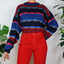 Load image into Gallery viewer, Circus Rainbow Textured Jumper