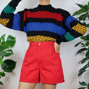 Funfair Colour Block Jumper