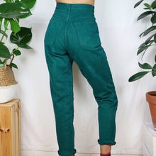 Load image into Gallery viewer, Turquoise Denim Jeans W28