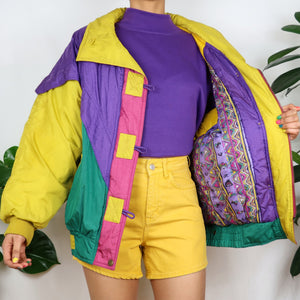 Circus Colour Block Duffle Jacket
