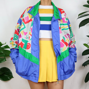 Big Kid Printed Shell Jacket