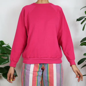Raspberry Pink Sweatshirt
