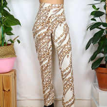 Load image into Gallery viewer, Chain Print Tailored Trousers 34W