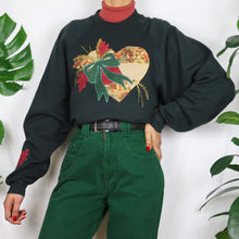 Load image into Gallery viewer, Patchwork Heart Sweatshirt