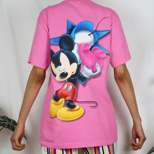 Minnie & Mickey Mouse Pink Florida T-shirt
