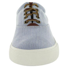 Load image into Gallery viewer, Ralph Lauren Vaughn Cotton Lace Up Fashion Sneaker