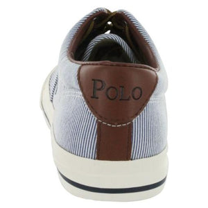 Ralph Lauren Vaughn Cotton Lace Up Fashion Sneaker