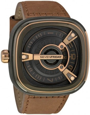 SevenFriday Automatic Black Dial Watch M-2/02