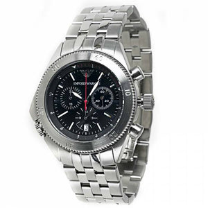 Emporio Armani Men's AR0546 Stainless Steel Chronograph Watch