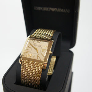 Emporio Armani Women's AR2017 Golden Classic Watch (Swiss Made)