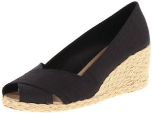 Ralph Lauren: Celcilia Shantung Wedge Sandals