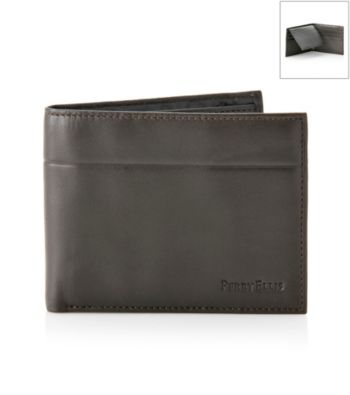 Perry Ellis Portfolio Men's Super Soft Brown Passcase