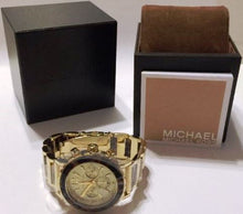 Load image into Gallery viewer, Michael Kors MK5790 Tortoise Ladies' Chronograph Watch