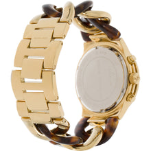 Load image into Gallery viewer, Michael Kors MK4222 Women's Chain Link Acrylic Gold-tone