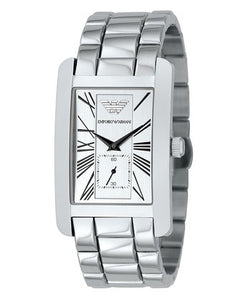 Emporio Armani Men's AR0145 Classic Stainless Steel Roman Numeral Dial Watch