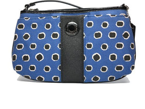 Coach: Mini Dot Large Striped Wristlet