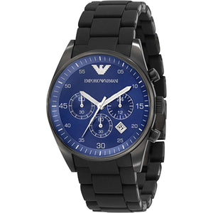 Emporio Armani Men's AR5921 Blue Dial Chronograph Sportivo Watch