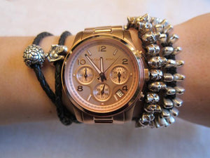 Michael Kors MK5128 Runway Spring/Summer Rose-Gold Tone Ladies' Chronograph Watch