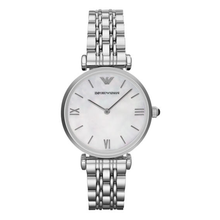 Load image into Gallery viewer, Emporio Armani Retro AR1682 Silver Lady's Watch
