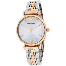 Load image into Gallery viewer, Emporio Armani Women's AR1840 Two-Tone Gianni Classic Watch