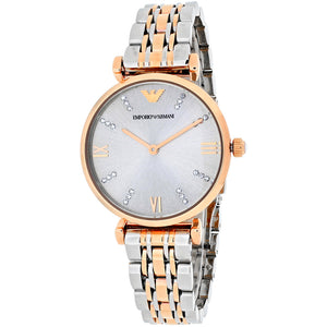 Emporio Armani Women's AR1840 Two-Tone Gianni Classic Watch