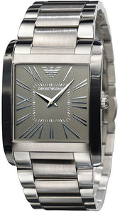 Emporio Armani Men's AR2010 Classic Stainless Steel Gunmetal Dial Watch
