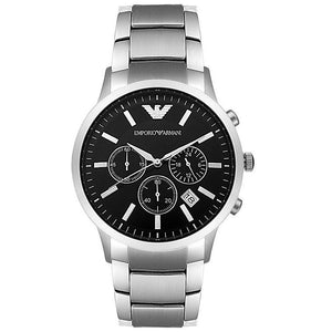 Emporio Armani Men's AR2434 Stainless Steel Watch  (Swiss Made)