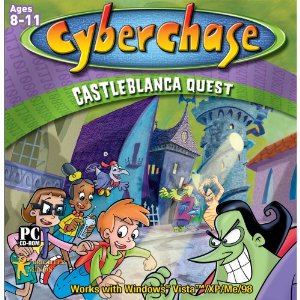 Fun & Educational PC Game: Cyber Chase: Castleblanca Quest (8-11 Years)