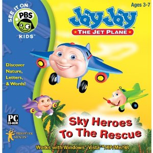 Fun & Educational PC Game: Jay Jay: Sky Heros to the Rescue Software (3-7 Years)
