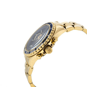 Michael Kors Mid-Size Golden Stainless Steel Everest Chronograph Glitz Watch (MK5754)