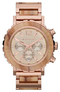 Michael Kors MK5791 Lillie Rose-Gold Tone Stainless Steel Ladies' Chronograph Watch