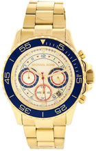Load image into Gallery viewer, Michael Kors Men's Everest MK5792 Gold Stainless-Steel Quartz Watch with Gold Dial