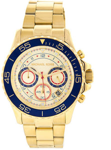 Michael Kors Men's Everest MK5792 Gold Stainless-Steel Quartz Watch with Gold Dial