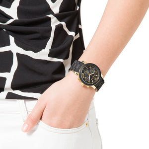 Michael Kors MK5191 Catwalk Ladies' Black Chronograph Watch